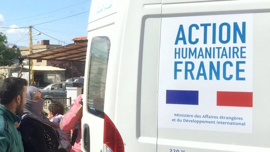 Stratégie humanitaire internationale de la France